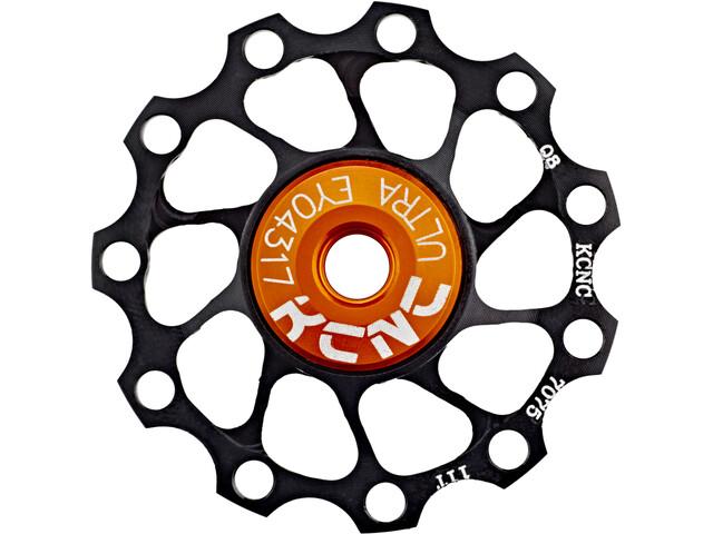 KCNC Jockey Wheel Ultra 11 dents palier SS, black